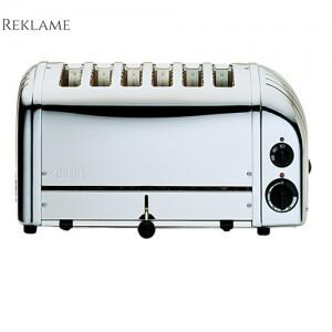 Dualit Vario 6 slice toaster brødrister