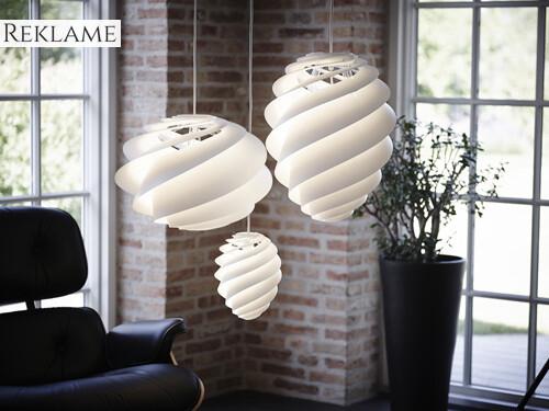 Swirl pendel loftlampe
