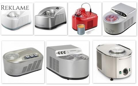 Ismaskiner med kompressor