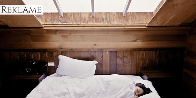 Problemer med at sove. Prøv mørklægningsrullegardiner